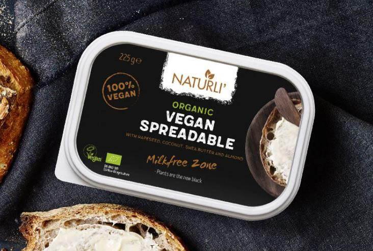 Mantequilla supuestamente vegana