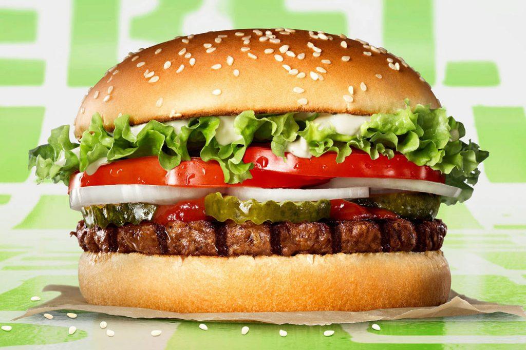 La versión vegetal del Burger King