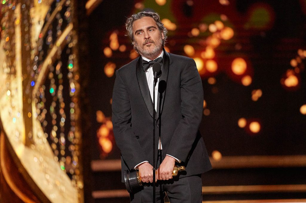 Discurso Joaquin Phoenix Oscars