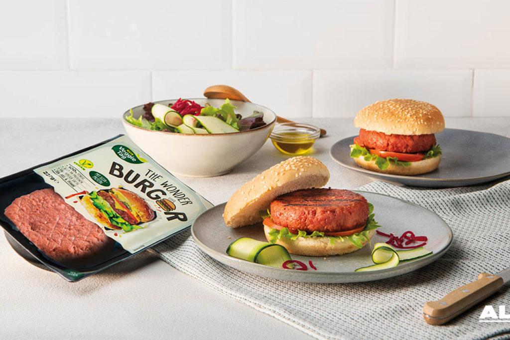 Hamburguesa vegana ALDI