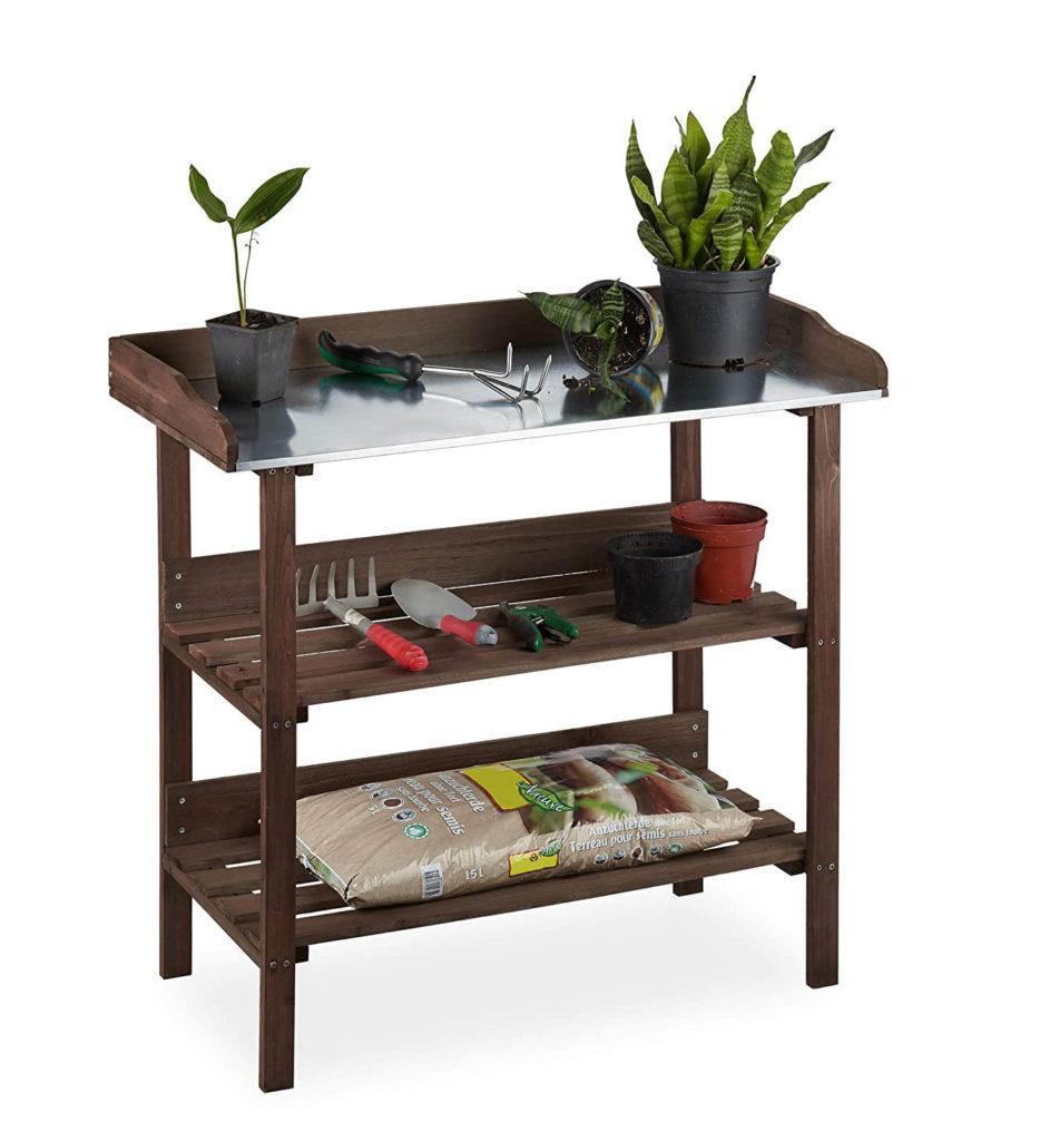 Mesa para jardín urbano