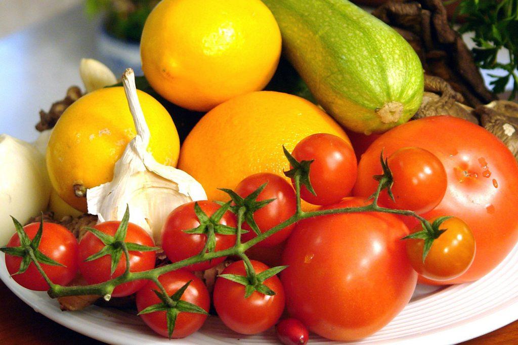 Frutas y verduras_vegano
