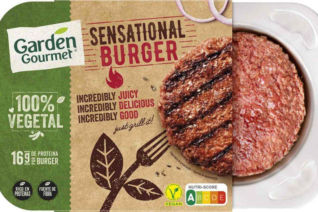 Hamburguesa vegana sensacional de Nestle