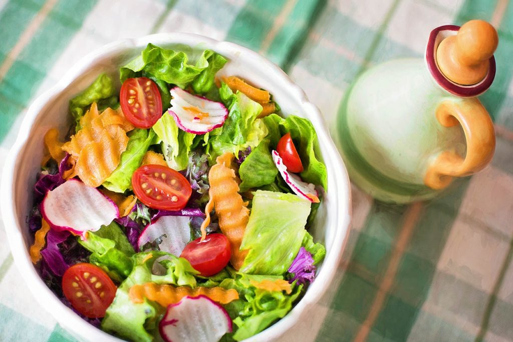 Perder peso con una dieta vegana