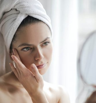 Limpieza facial_secado facial