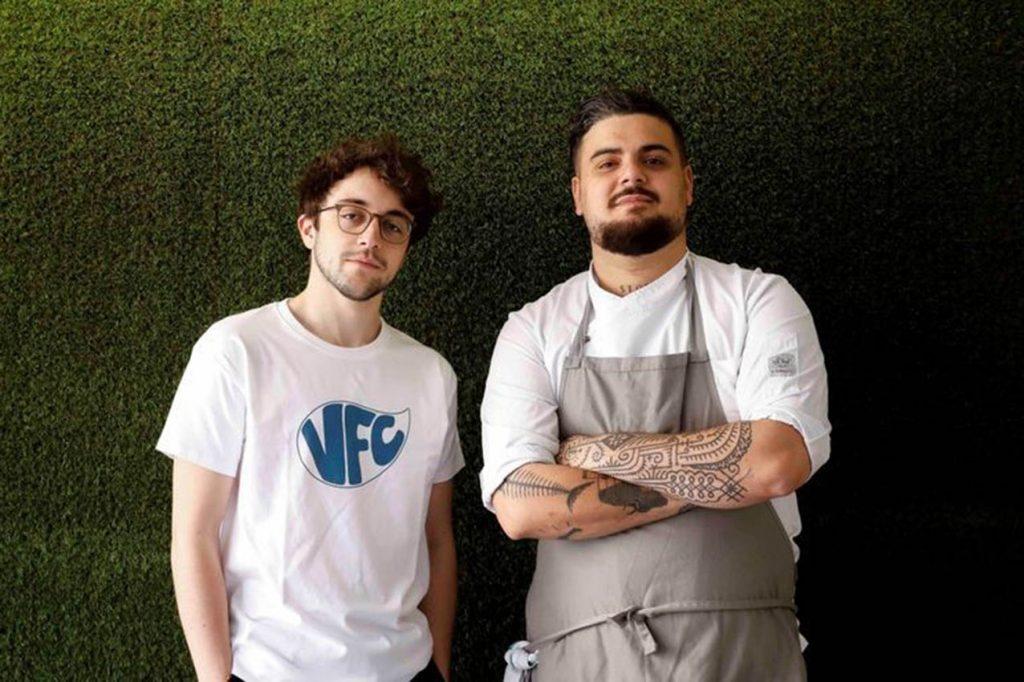 Pablo Alcolea, CEO (izda.), y Rodolfo Castro, chef ejecutivo de Vegan Food Club.